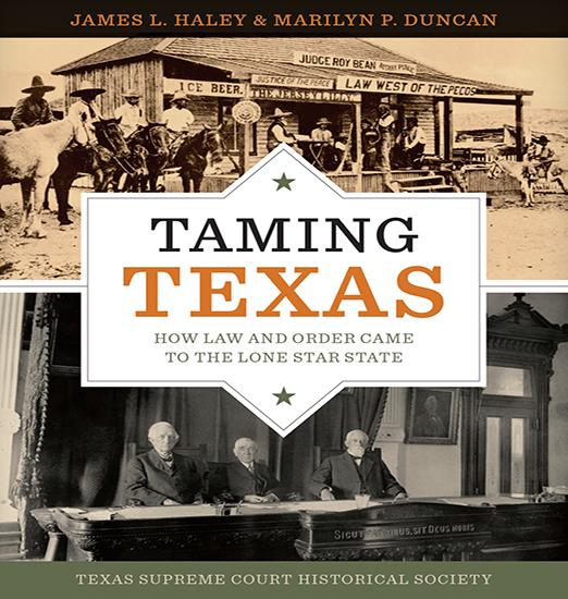 Taming Texas book cover